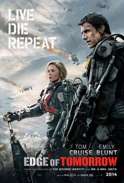 New EDGE OF TOMORROW Trailer Is Cruise-Centric
