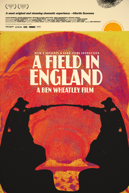Trip Out With The New US Trailer For Ben Wheatley's A FIELD IN ENGLAND