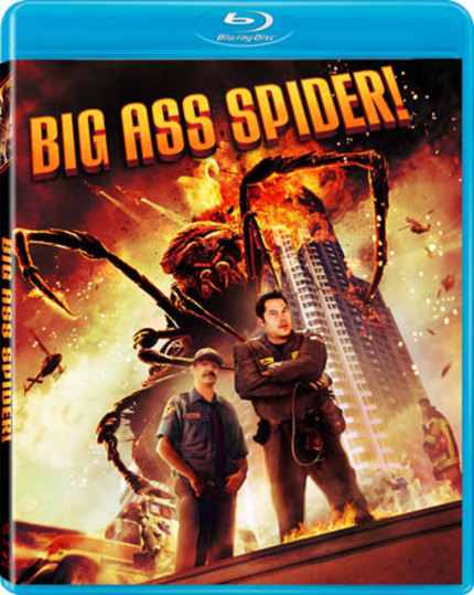 BIG ASS SPIDER Invades Your Homes On Blu-ray
