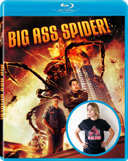 Win A BIG ASS SPIDER T-shirt, Blu-ray And Signed Poster!