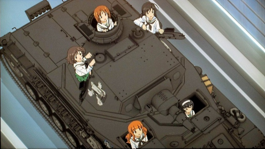 Blu-ray Review: GIRLS UND PANZER Delivers Fun On Caterpillars