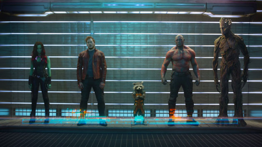 The First Official Photo Of GUARDIANS OF THE GALAXY!