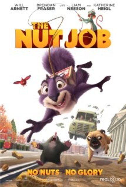 Review: THE NUT JOB Fails To Crack Up Viewers