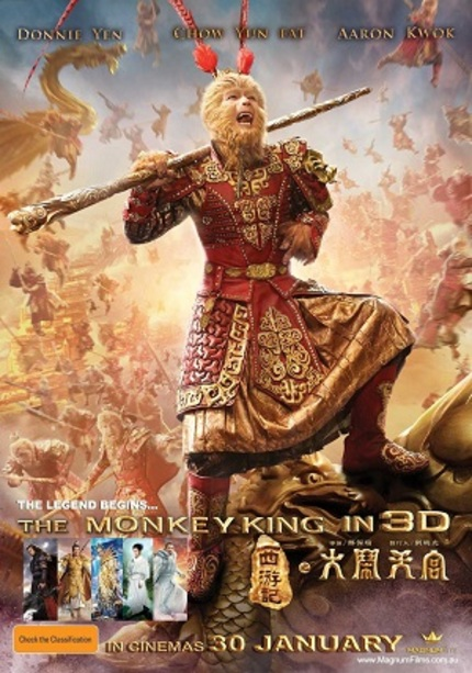 Hey Australia! Win Tickets To See Donnie Yen's THE MONKEY KING 3D In Cinemas!