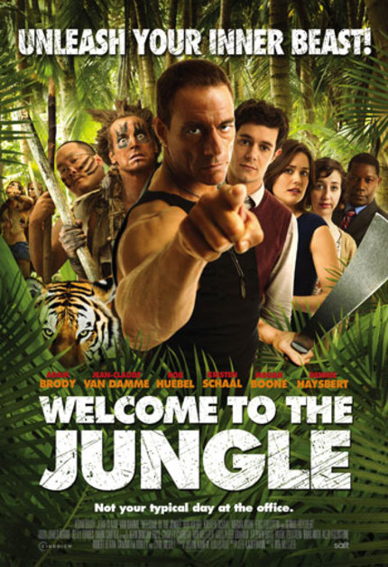 JCVD Goes For The Funny Bone In Red Band WELCOME TO THE JUNGLE Trailer
