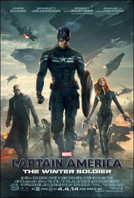 CAPTAIN AMERICA Loves Football! Watch The New WINTER SOLDIER Teaser!