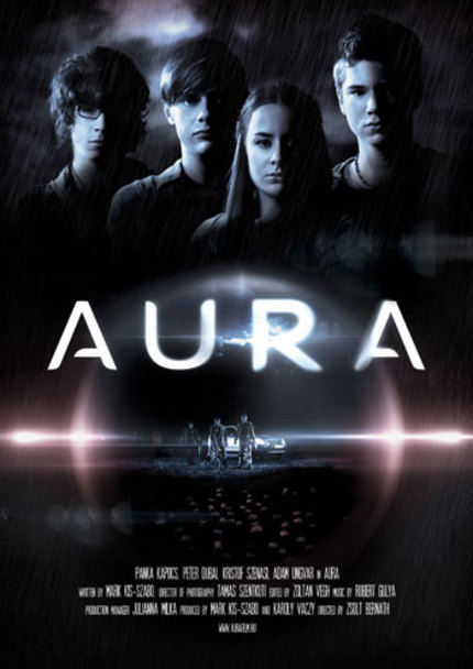 Hungarian Teen Sci-Fi Flick AURA Trailer Is Surrounded By An Invisible Force