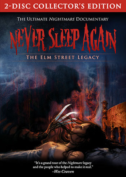 Win A Signed Blu-Ray Of NEVER SLEEP AGAIN: THE ELM STREET LEGACY