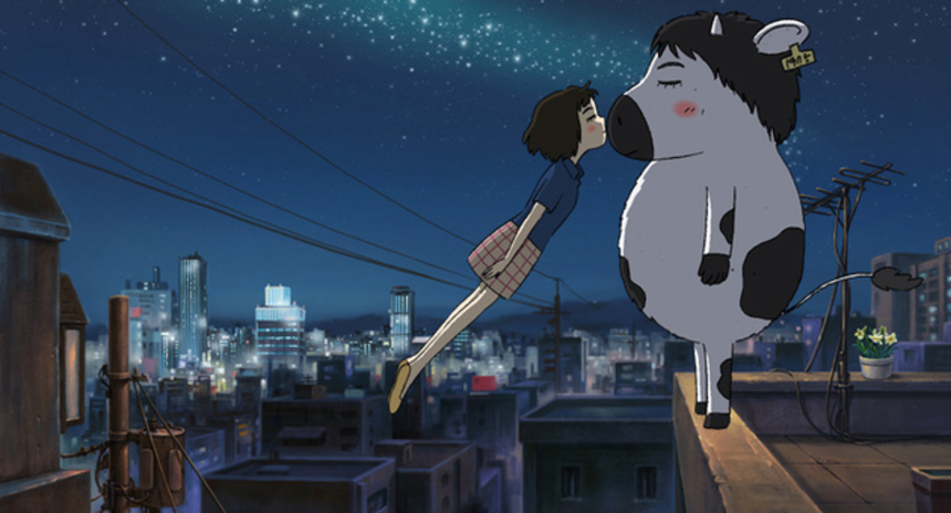 Review: THE SATELLITE GIRL AND MILK COW Shows Promise for Korean Animation