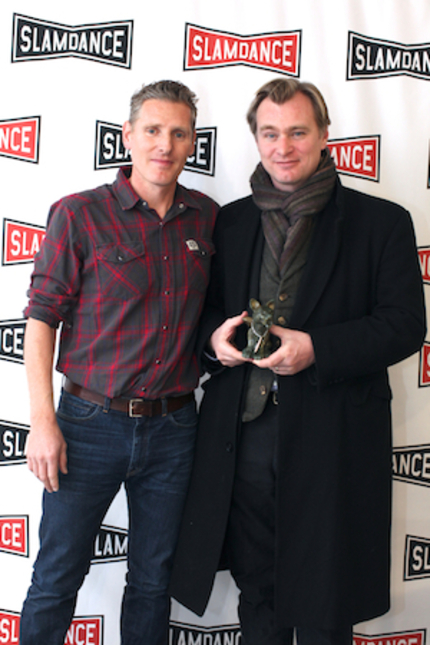 Slamdance 2014 News: Christopher Nolan Recieves The Founder's Award