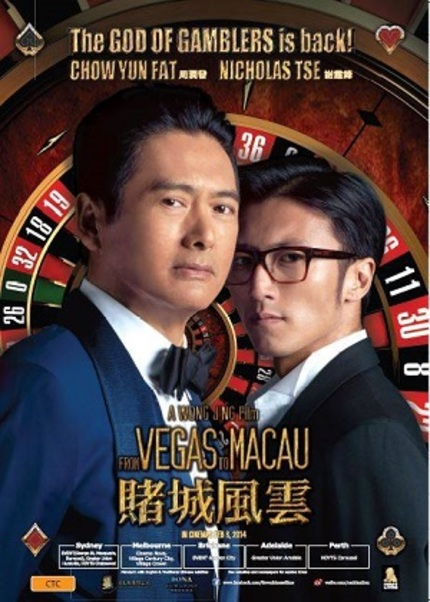 Hey Australia! Win Tickets To See Chow Yun Fat's FROM VEGAS TO MACAU In Cinemas!