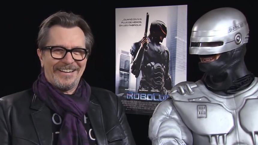 Gary Oldman Meets RoboCoppola