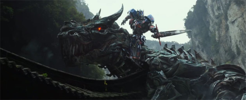 Optimus Ride Grimlock! TRANSFORMERS: AGE OF EXTINCTION Big Game Spot