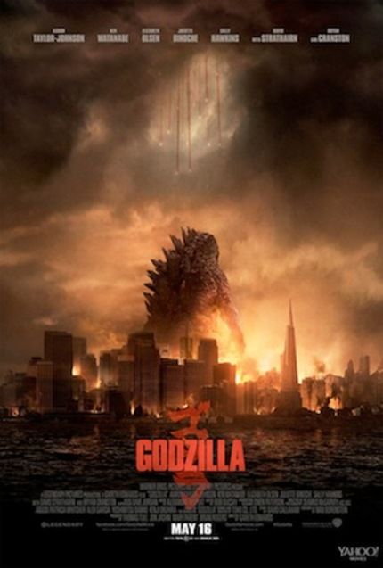 GODZILLA: New International Trailer Lays Waste To The Landscapes