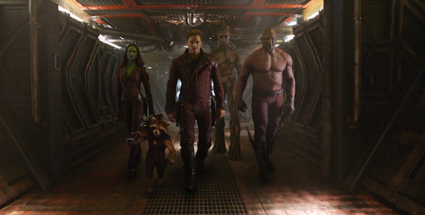 New Photos From GUARDIANS OF THE GALAXY