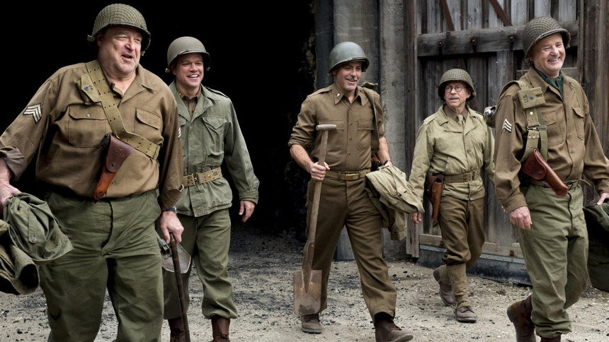 Review: THE MONUMENTS MEN, Wartime Patriotism Done Right (Or Left)