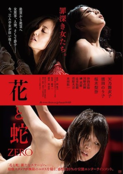 Check Out The NSFW Trailer For Japanese S&M-Themed Thriller FLOWER AND SNAKE ZERO