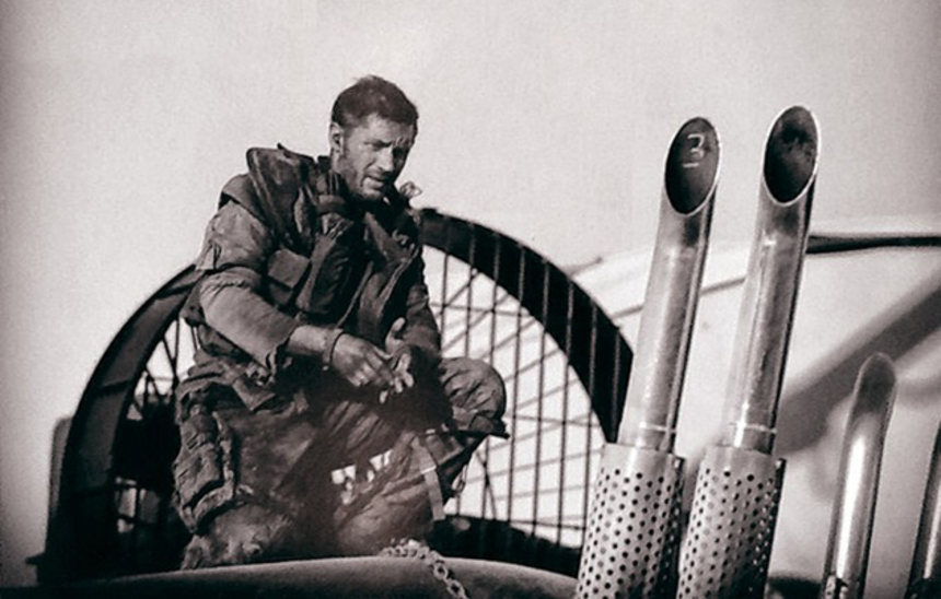 Here's A New Image Of Tom Hardy As MAD MAX