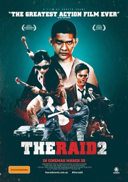 Hey Australia! Win Double Passes To See THE RAID 2 In Cinemas!