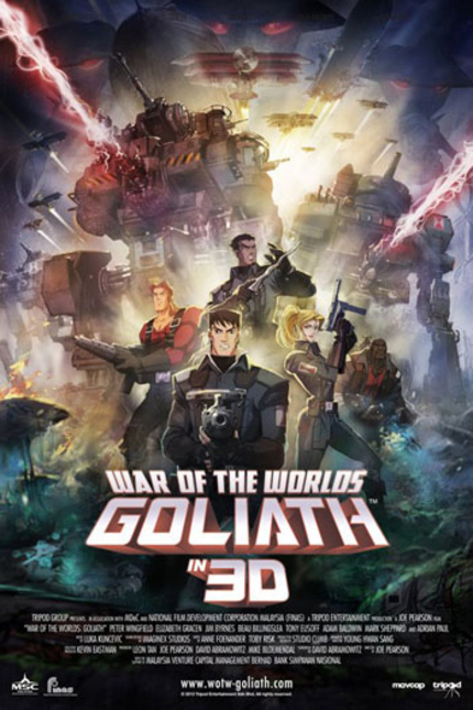 Review: WAR OF THE WORLDS: GOLIATH, A Good Old Animated Steampunk Sci-fi Romp!
