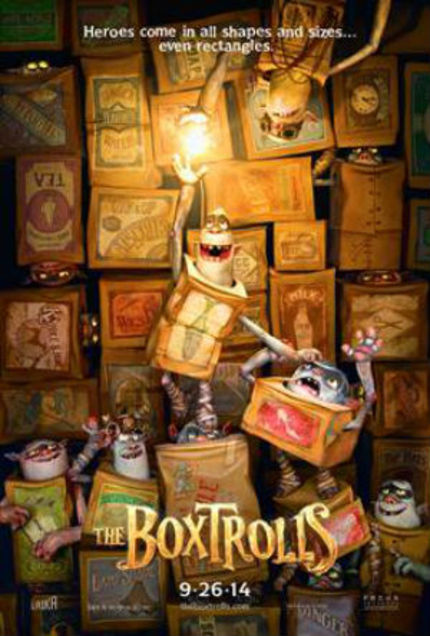 Be Charmed By THE BOXTROLLS In Full Trailer