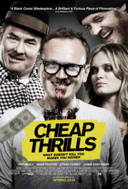 Review: CHEAP THRILLS, When The Survival Instinct Gets Bloody And Funny