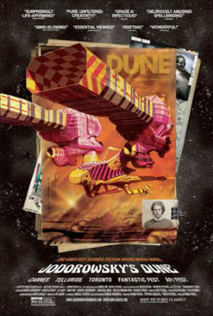 Review: JODOROWSKY'S DUNE Delightfully Journeys Into The Brilliance That Might Have Been