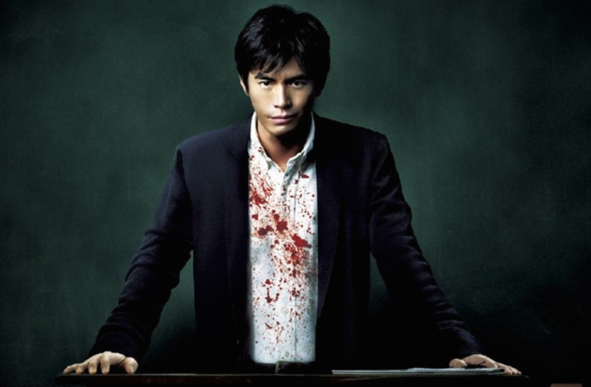 EXCLUSIVE: The Bloody UK Trailer For Miike's LESSON OF EVIL