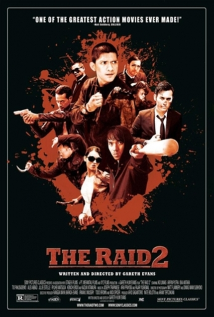 It's A Gang War In Lengthy THE RAID 2 Deleted Scene