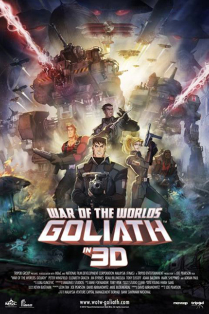 Watch This Clip From WAR OF THE WORLDS GOLIATH And Enter Our Giveaway