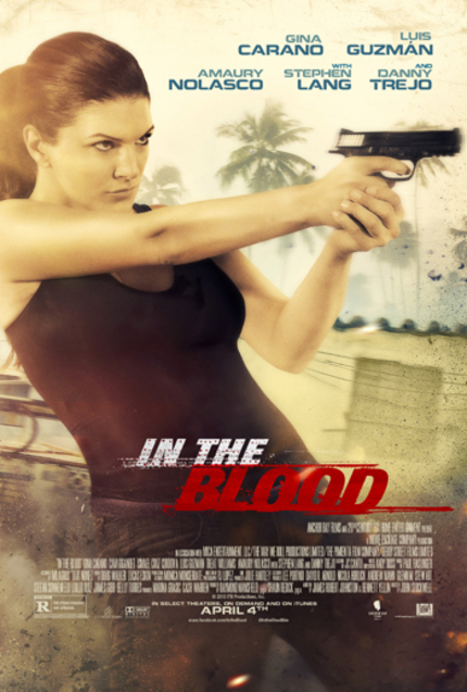 Review: For Gina Carano, Fighting Bad Guys Is IN THE BLOOD