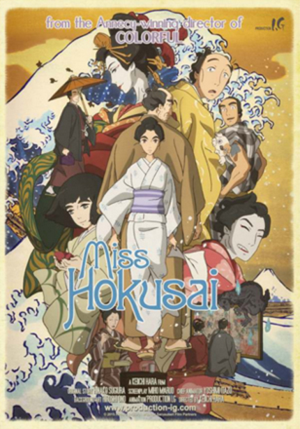 MISS HOKUSAI: New Production I.G Project Is An Edo Period Piece