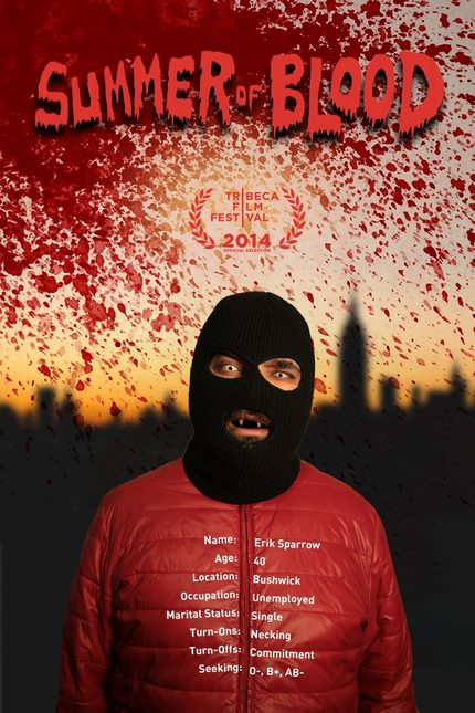 Vampire Lothario In Bushwick! Check The Poster And Trailer For Quirky Tribeca Selected Horror Comedy SUMMER OF BLOOD