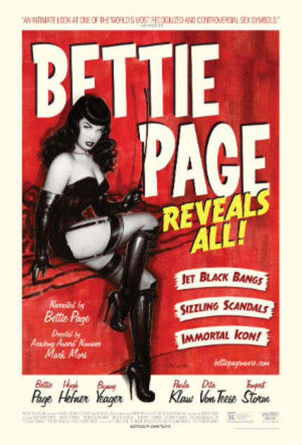 Blu-ray Review: BETTIE PAGE REVEALS ALL, A Pin-Up Girl As Feminist Icon