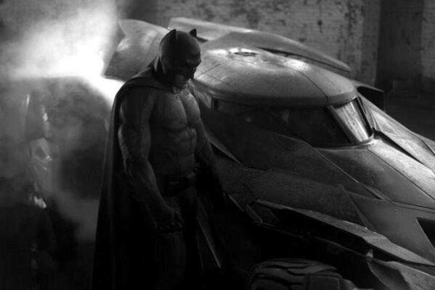First Shot Of Ben Affleck As Batman