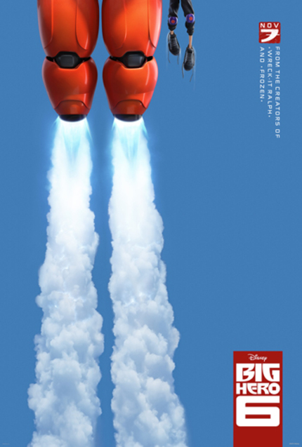 The Teaser For Disney's BIG HERO 6 Cannot Contain Itself