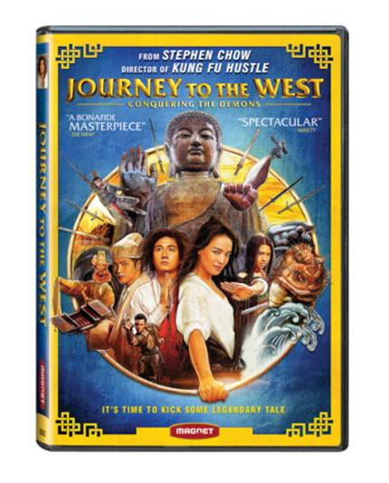 Hey Canada! Stephen Chow's JOURNEY TO THE WEST Hits iTunes, DVD, Blu And VOD This Month