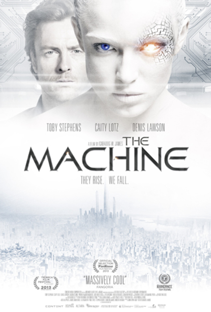 THE MACHINE: Win A Blu-ray And Poster Signed By Caity Lotz