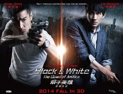 Explosive First Teaser For Taiwanese Cop Actioner BLACK & WHITE EPISODE II: THE DAWN OF JUSTICE
