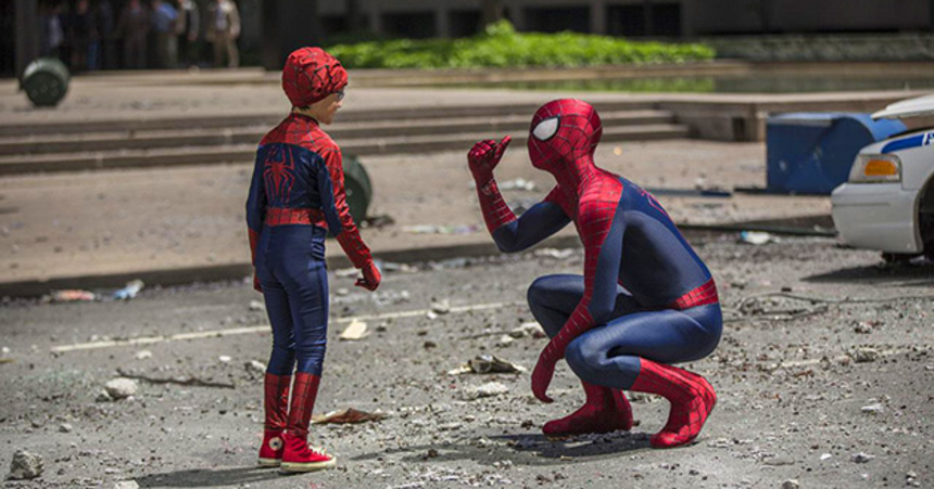 Destroy All Monsters: The Clothes Make The Spider-Man