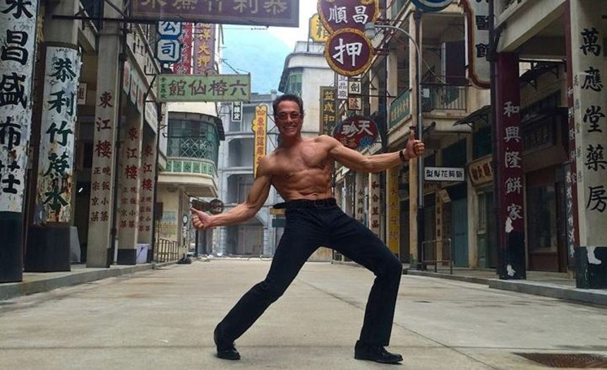 Van Damme Wraps POUND OF FLESH In China