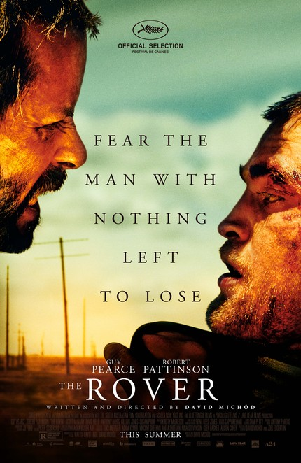 THE ROVER Giveaway! Win A Poster Signed By Pattinson, Pearce And Michod!
