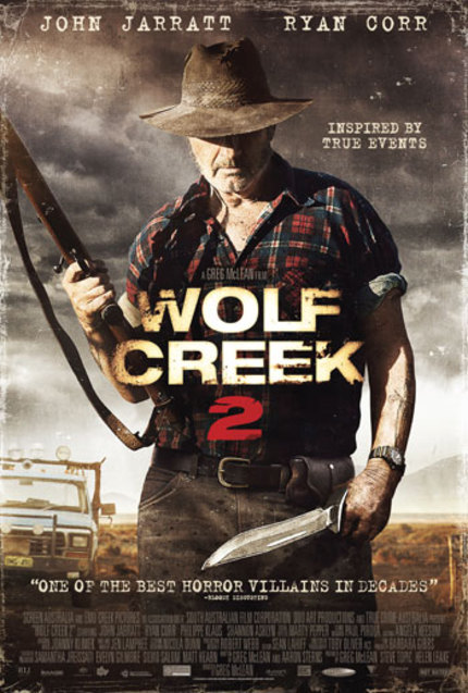 Watch: WOLF CREEK 2 Behind The Scenes Clip