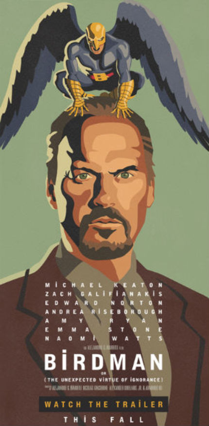 BIRDMAN: Michael Keaton Flies Again In Groovy First Trailer