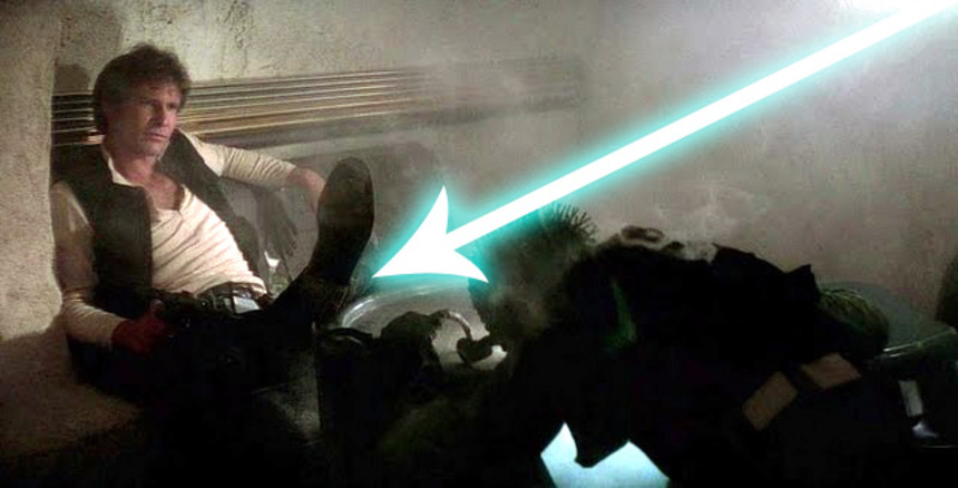 STAR WARS EPISODE VII Update: Ford Falls, Foiled by Falcon?