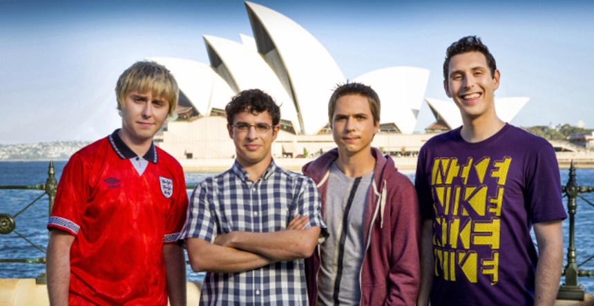 Do You Dare Enter The Mobile Virgin Conversion Unit With The INBETWEENERS 2 Trailer?