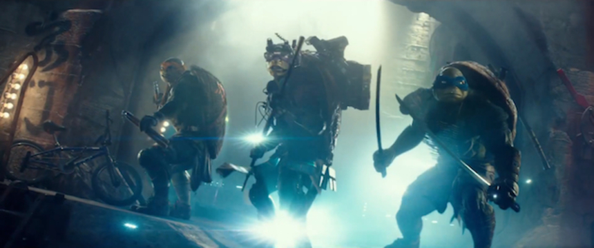 The Full Trailer For TEENAGE MUTANT NINJA TURTLES Knows It Is Dumb