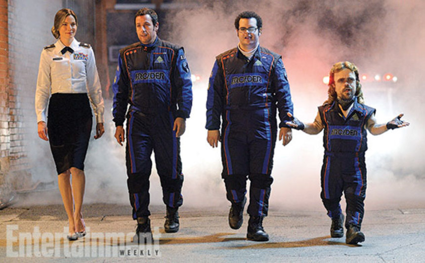 Your First Look At Adam Sandler And Company In PIXELS