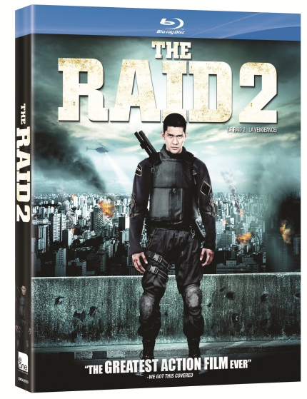 Hey, Canada! Win THE RAID 2 On Blu-Ray!