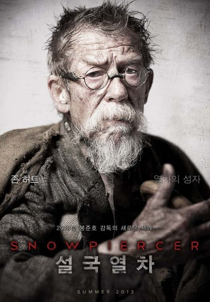 Acting Legend John Hurt And Co-Writer Kelly Masterson Talk SNOWPIERCER